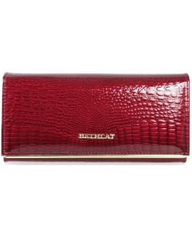 Красный женский кошелек из натуральной кожи купить оптом (BC-M10-150-JUJUBE-RED)