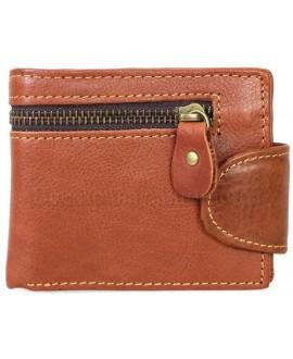 Модный кошелек рыжего цвета в стиле гранж от SALFEITE A-VINTAGE-073