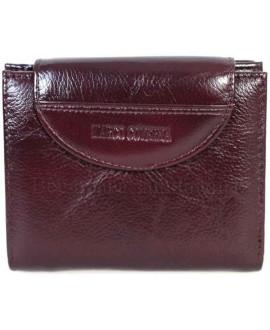 Модный кожаный кошелек коричневого цвета от Marco Coverna MC-N3-2047-BROWN