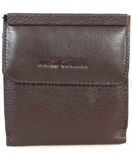 Компактный кошелек коричневого цвета от Marco Coverna MC213B-9-BROWN