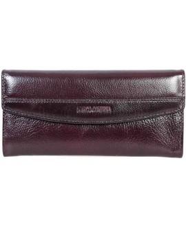 Стильный кожаный кошелек коричневого цвета от Marco Coverna MC-N3-8245-BROWN