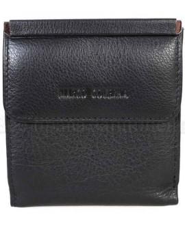 Компактный кошелек черного цвета от Marco Coverna MC213B-1-BLACK