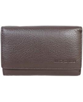 Стильный кошелек коричневого цвета от Marco Coverna MC1418-9-BROWN