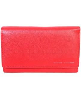 Стильный кошелек красного цвета от Marco Coverna MC1418-2-RED