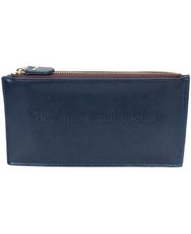 Лаконичный стильный кошелек из экокожи от SALFAITE AL1029-4-DARK-BLUE