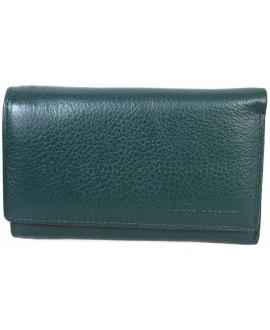 Стильный кошелек зеленого цвета от Marco Coverna MC1418-7-GREEN