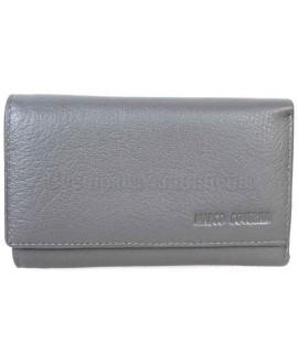 Стильный кошелек серого цвета от Marco Coverna MC1418-3-GREY