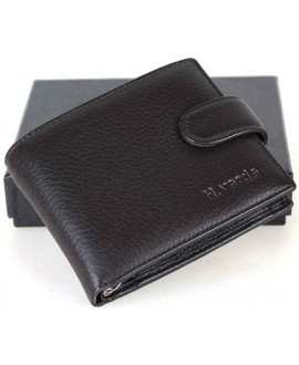 Модный мужской кошелек из натуральной кожи от H.Verde 208А-HV