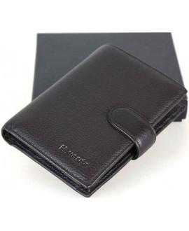 Модный мужской кошелек из натуральной кожи от H.Verde 302А-HV