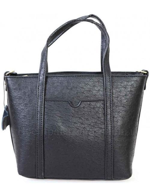 Компактная женская кожаная сумка черного цвета от SK Leather Collection SKD-009-BLACK
