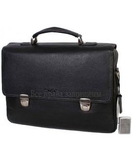 Портфель формата А4 из натуральной кожи для солидных мужчин – H.T-Leather (HT-5227-1-opt) в категории купить мужские портфели оптом Украина