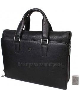 Стильная мужская сумка для ноутбука формата А4 из натуральной кожи HT-8014-1-opt в категории купить сумки для ноутбука оптом Киев