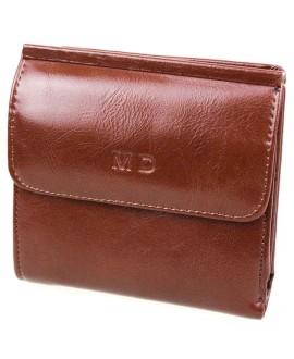 Модный кошелек черного цвета от MD-Eco EMD-4459-3