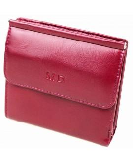 Модный кошелек бордового цвета от MD-Eco EMD-4459-9