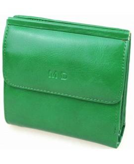 Модный кошелек зеленого цвета от MD-Eco EMD-4459-45