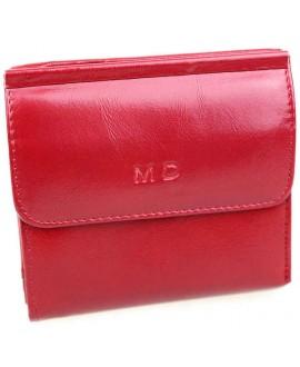 Модный кошелек красного цвета от MD-Eco EMD-4459-14