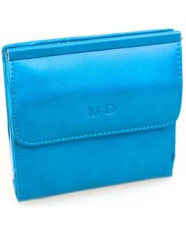 Модный кошелек голубого цвета от MD-Eco EMD-4459-22