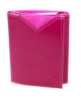 Стильный кошелек малинового цвета от MD-Eco EMD-610-13