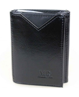 Стильный кошелек черного цвета от MD-Eco EMD-610-1