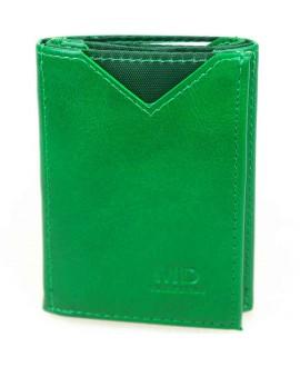 Стильный кошелек светло-зеленого цвета от MD-Eco EMD-610-45