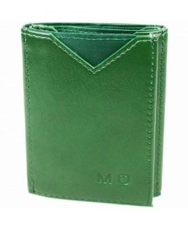 Стильный кошелек зеленого цвета от MD-Eco EMD-610-37