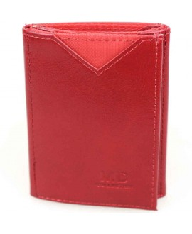 Стильный кошелек красного цвета от MD-Eco EMD-610-15
