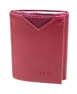 Стильный кошелек бордового цвета от MD-Eco EMD-610-9
