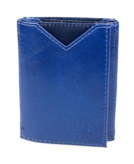 Стильный кошелек синего цвета от MD-Eco EMD-610-41