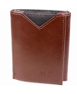Стильный кошелек коричневого цвета от MD-Eco EMD-610-3
