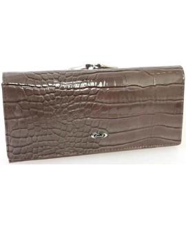 Стильный женский кошелек серого цвета от Cossroll C04-9112-6