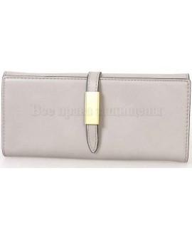 Стильный женский кошелек серого цвета от Tailian T8211-001-GREY