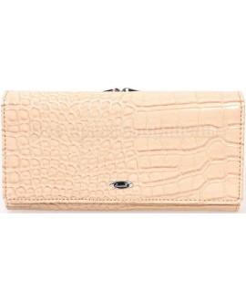 Стильный женский кошелек белого цвета от Cossroll C04-9112-5-WHITE