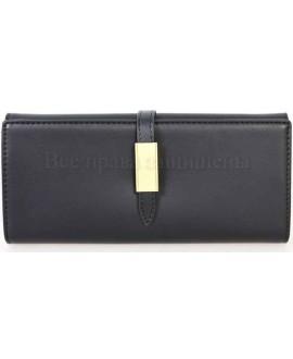 Стильный женский кошелек черного цвета от Tailian T8211-001-BLACK