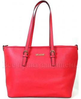 Стильная женская сумка из экокожи от SK Leather Collection SK1112-RED