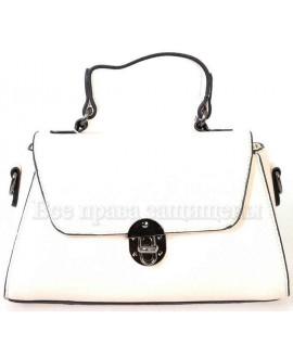 Женская компактная сумка из экокожи от SK Leather Collection от SK1629-BEIGE