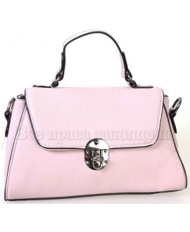 Женская компактная сумка из экокожи от SK Leather Collection от SK1629-PINK