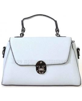 Женская компактная сумка из экокожи от SK Leather Collection от SK1629-BLUE
