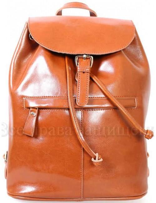 Стильный женский кожаный рюкзак от SK Leather Collection SK5008-BROWN