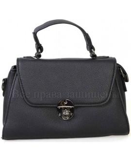 Женская компактная сумка из экокожи от SK Leather Collection от SK1629-BLACK
