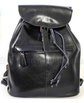 Стильный женский кожаный рюкзак от SK Leather Collection SK5008-BLACK