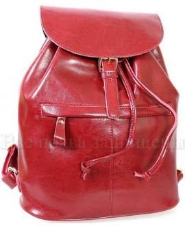 Стильный женский кожаный рюкзак от SK Leather Collection SK5008-RED