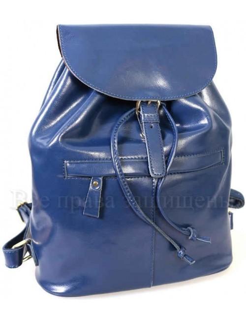 Стильный женский кожаный рюкзак от SK Leather Collection SK5008-BLUE
