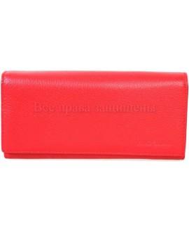 Стильный кожаный кошелек красного цвета от Marco Coverna MC415-2-RED