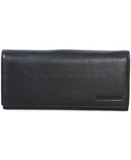 Стильный кожаный кошелек унисекс от Marco Coverna MC415-1-BLACK