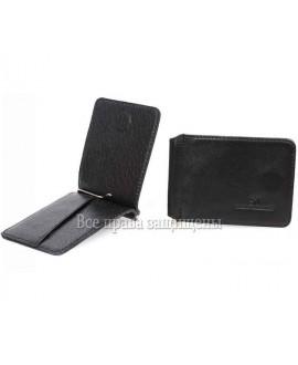 Зажим для денег магнит черного цвета ZS-011BLACK