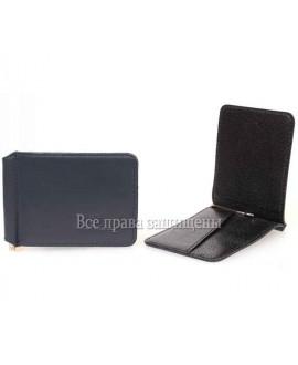 Зажим для денег синий на магните ZS-011BLUE в категории тонкие мужские кошельки