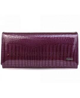 Женский кошелек фиолетовый кожаный кошельки оптом харьков AE501 VIOLET