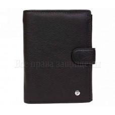 Большой кожаный мужской кошелек от Турецкого бренда Salfeite в категории кошельки оптом Харьков AM1BLACK