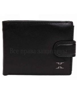 Мужской кожаный кошелек с визитницей в категории кошельки оптом Одесса 7 км D5863-13WBLACK