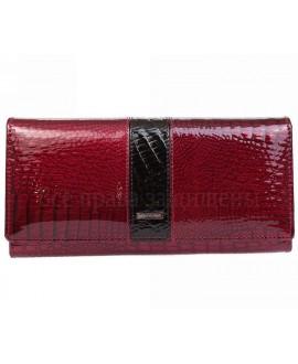 Бордовый женский кошелек кожа в категории кошельки оптом Одесса 7 км AE152JUJUBE RED